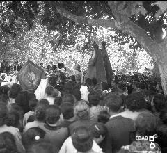 Statua dei S.S. Cosma e Damiano in processione