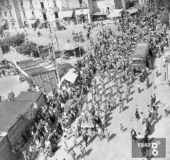 Processione del Santi Cosma e Damiano in via Matteotti