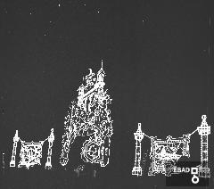 Illuminarie per la festa di San Matteo