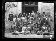 Liceo Classico Scuola San Antonio.Preside A.Marsilia. [La prof.ssa di Matematica sig.ra Gammino-Panza. Su indicazione di Mariano Pastore]