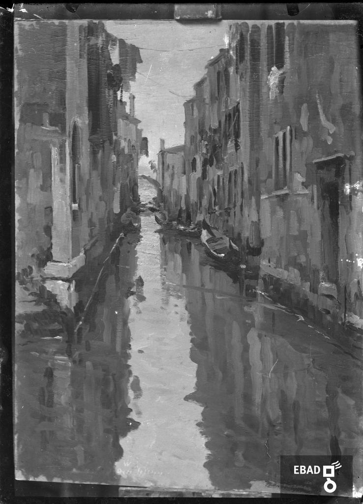 Archivio Fotografico scheda n.34692 Dipinto raffigurante uno scorcio ... 0643d84f6378