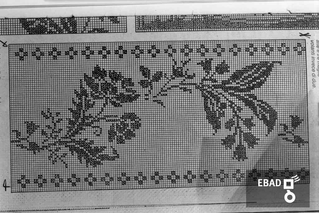Archivio Fotograficoscheda N2902 Schema Di Lavoro Alluncinetto